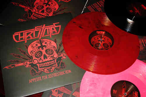 CHRISTMAS 'Appetite for Selfdestruction' limited LP edition