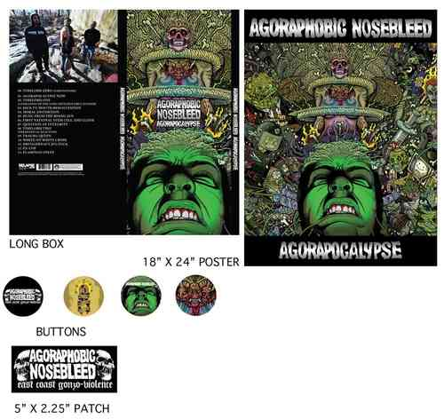 AGORAPHOBIC NOSEBLEED 'Agorapocalypse' limited edition CD Box Set