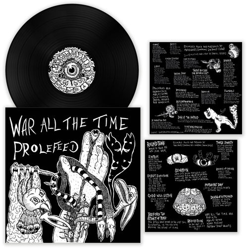 PROLEFEED | WAR ALL THE TIME Split LP