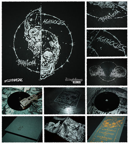 AGATHOCLES | PARANOIA Split 3""