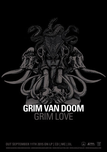 GRIM VAN DOOM 'Grim Love' Sticker