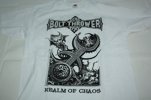 BOLT THROWER 'Realm of Chaos' T-Shirt (L)