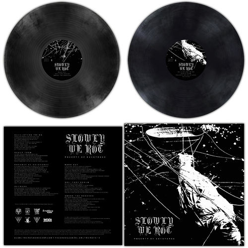 SLOWLY WE ROT 'Poverty Of Existence' LP