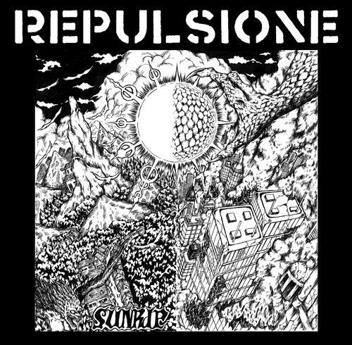 REPULSIONE 'Sunrip' LP