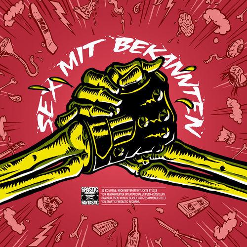 VA 'Sex Mit Bekannten' LP (Henry Fonda, Nihil Baxter, Sniffing Glue, Derbe Lebowski...)