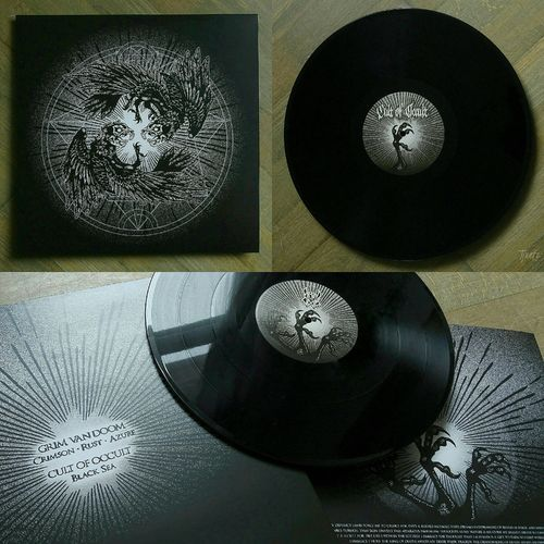 CULT OF OCCULT | GRIM VAN DOOM Split LP