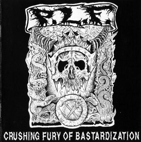 P.L.F. 'Crushing Fury Of Bastardization' CD