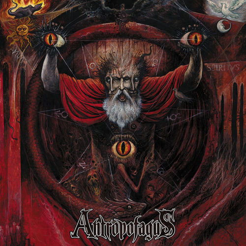 ANTROPOFAGUS 'Methods of Resurrection Through Evisceration' LP
