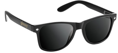GLASSY SUNHATERS Leonard Sonnenbrille black