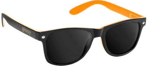GLASSY SUNHATERS Leonard Sunglasses black/orange
