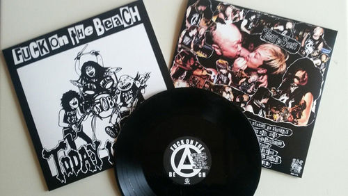 FUCK ON THE BEACH 'Today Is Start' LP