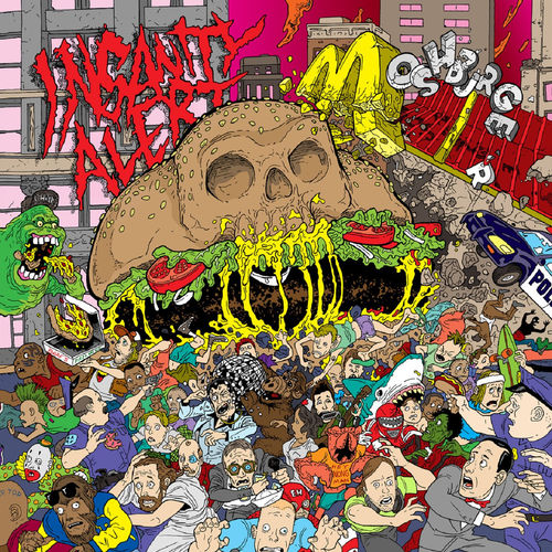 INSANITY ALERT 'Moshburger' LP