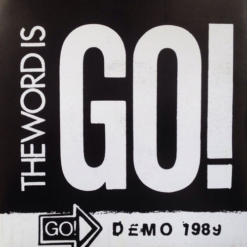 """GO! 'The word is Go!' 7"""""""