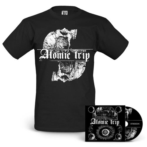 ATOMIC TRIP 'Strike #1' CD + T-Shirt