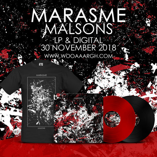 MARASME 'Malsons' Bundle (LP + T-Shirt)