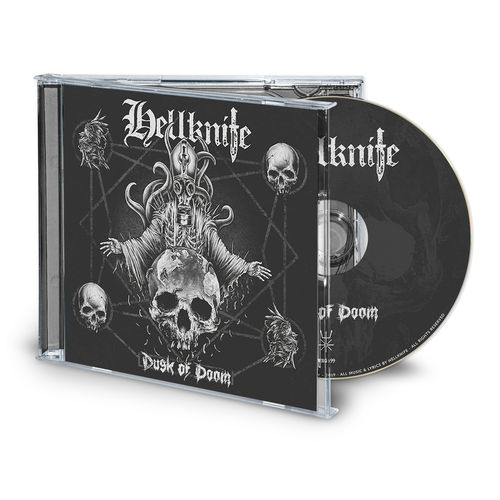 HELLKNIFE 'Dusk Of Doom' CD