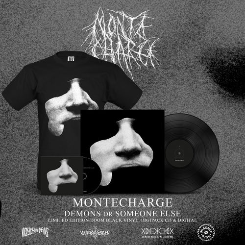 MONTECHARGE 'Demons Or Someone Else' Bundle (LP,CD,Shirt)